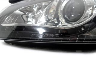 Depo 06 09 Audi A3 8P 8PA 8P1 Black Bi Xenon HID R8 LED Headlight
