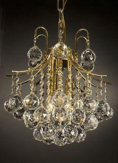 EMPIRE CRYSTAL CHANDELIER LIGHTING GOLD FIXTURE PENDANT CEILING LAMP