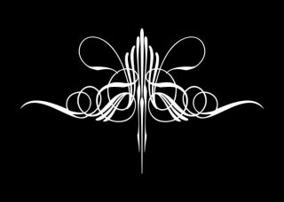 Vinyl Pinstripe Pinstriping Decal Sticker Graphic 38BC