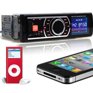 Car Stereo with USB SD Card Slot Aux Inputs FM Radio