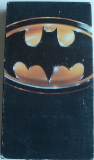 specifics batman vhs video jack nicholson michael keaton kim basinger