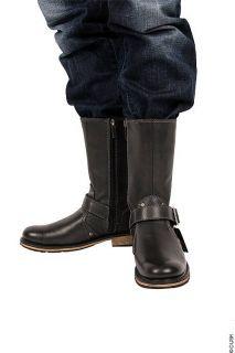 Harley Davidson   Size 9.5   Jayden Mens Black Engineer Boot Leather