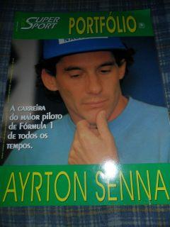 AYRTON SENNA SUPER SPORT PORTFOLIO BRAZIL MAGAZINE SPECIAL 36 PAG FULL