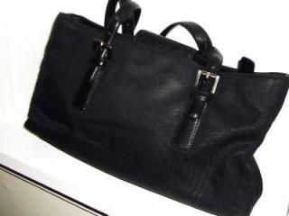 Microfiber Leather Satchel Shoulder Bag Handbag B2K 7426 RARE