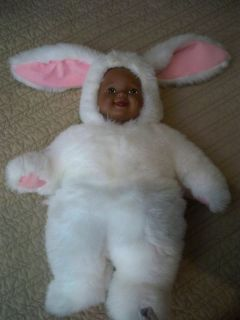 African American Black AA Baby Removable Bunny Costume Outfit 14