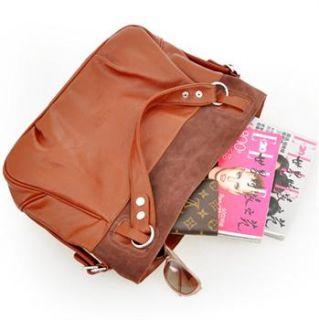 New Ladys Real Leather Handbags Shoulder Bag Fashion Totes Free