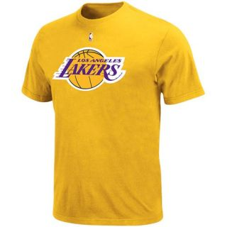 La Lakers Adidas Gold Primary Logo T Shirt Sz Youth XL