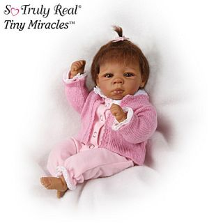 Drake Tiny Miracles Kendall Lifelike African American Baby Doll