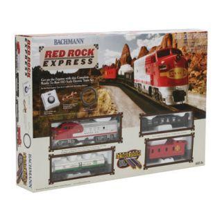Bachmann HO Scale Red Rock Express Train Set BAC00678