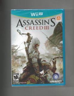 Assassins Creed III Nintendo Wii U Game Brand New SEALED