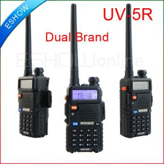 BAOFENG Dual Band Model UV 5R VHF UHF Dual Band Radio FM 65 108MHz New