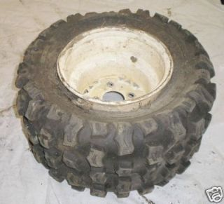 95 Polaris 250 Trail Boss ATV Parts Rear Tire Wheel