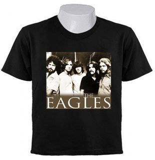 Classic Eagles Rock Band T Shirts Clark Parsons Clarke Hotel
