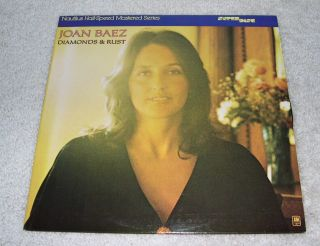 Joan Baez Diamonds and Rust Audiophile Nautilus Half Speed Super Disc