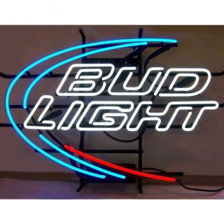Light Neon Sign Lamp Man Cave Car Garage Bud Bar Beer Mancave