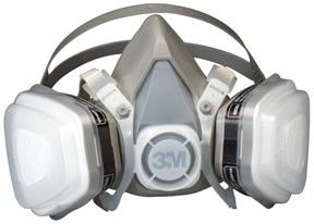 3M Dual Cartridge Respirator Assembly 07193 Organic Vapor / P95 Large