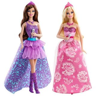 Barbie The Princess and The Popstar Tori & Keira Fashion Dolls Set