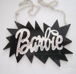 Sexy Stunning Silver Barbie Nicki Minaj Celebrity Style Necklace