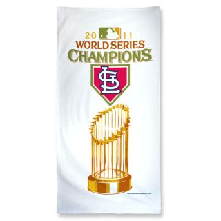 Cardinals 2011 World Series Champions Cotton Beach Towel New