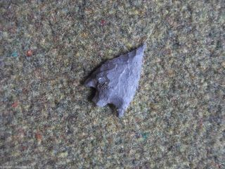 Archaic California Gypsum Cave Basalt Atlatl Dart Projectile Point