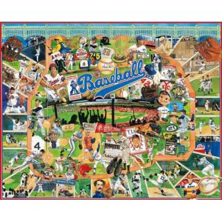 White Mountain Baseball 1000 PC Jigsaw Puzzle