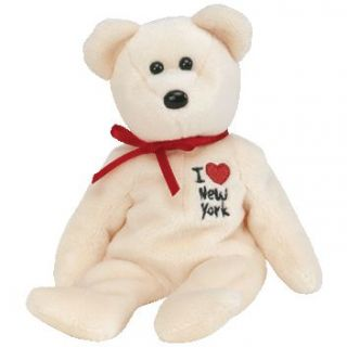TY Beanie Baby   NEW YORK the Bear (I Love New York   Show Exclusive