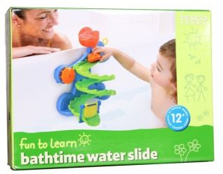 Tub Time Water Park Play Set Bath Toy Child Baby 12 Month Gift in Box