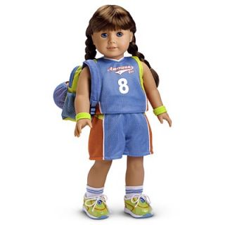 American Girl Doll Basketball Outfit and sport accessories