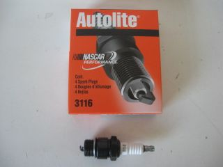 MANY IH Case Tractor Autolite 3116 18mm spark plug set 4 FOUR
