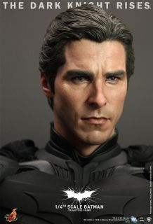 Hot Toys 2012 Batman Dark Knight Rises TKDR Bruce Wayne 1 4 18