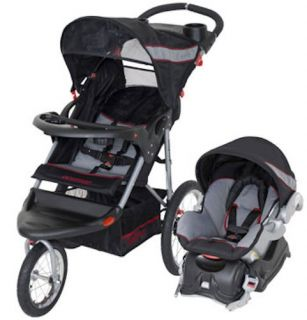 Baby Trend Expedition Swivel Jogger Travel System Jogging Stroller