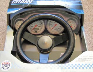 GT850 Steering Wheel Classic Series 10 3 4 x 2 1 2 Black Dish