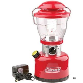 COLEMAN RETRO RECHARGEABLE BATTERY POWERED LANTERN (FAMILY SIZE)