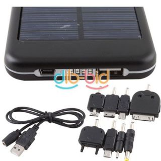 Solar Panel USB Energy Battery Charger 5000mAh for Nokia Samsung Sony