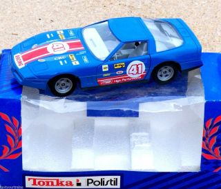 1986 TONKA POLISTIL Chevy Corvette #41 LeMans Rally Car 1:24