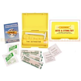 Snake Wasp Bee Bite Sting Extractor Venom Vaccuum Syringe First Aid