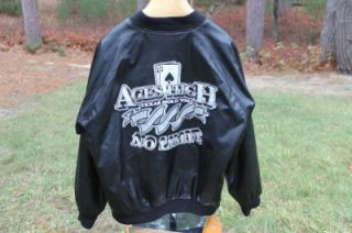 Texas Hold em Aces High No Limit Embroidered Jacket Steve & Barrys