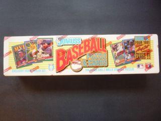 1991 Donruss Baseball Factory Set 728 Cards 4 Bonus Leaf Cards