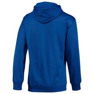 Hoodie Hoody Hooded Tennis Jacket Medium Med M Blue 23330