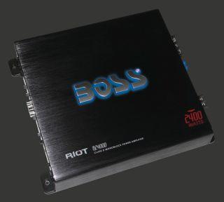 New Boss R2400D 2400W Class D Mono Block Car Audio Amplifier Amp 2400