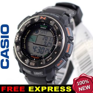 Casio Men PROTREK Pathfinder Solar Watch Xpress Box PRG 250 1D