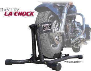 Baxley La Motorcycle Tire Wheel Chock Harley Cruisers