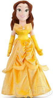 Disney Beauty and The Beast Princess Belle Plush Stuffed Rag Doll