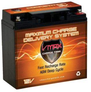 Matic Motorcaddies Golf Cart Batteries VMAX 12V AGM Battery
