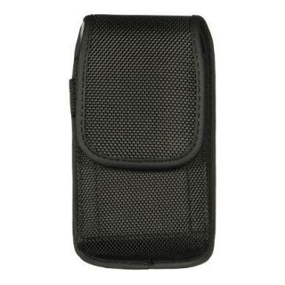 Rugged Canvas Cell Phone Pouch Belt Clip Velcro for Blackberry Torch