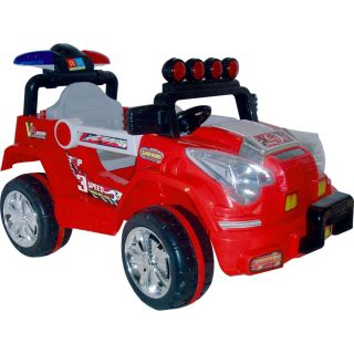 Outdoor Toy Kids Boys Lil Rider Battery Operated Red Jeep Ride On Toys