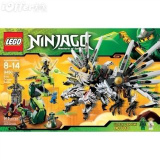 New Lego Ninjago Epic Dragon Battle 9450 No Box