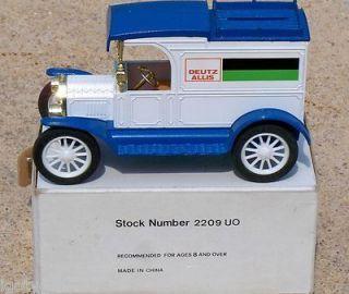 Ertl Deutz Allis Farm Tractors 1913 Ford Model T Truck Bank