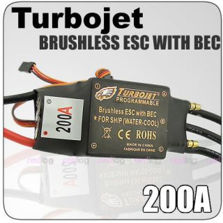 200A Brushless Motor Speed Controller ESC 5A BEC Boat