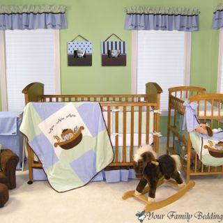 Animals Baby Boy Girl Neutral Kid Crib Nursery Collection Bedding Set